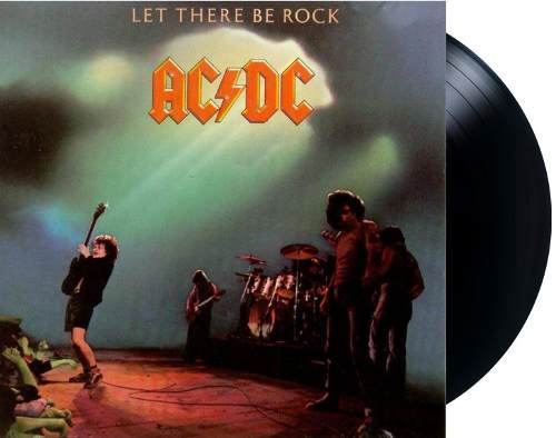 Lp ACDC Let There Be Rock
