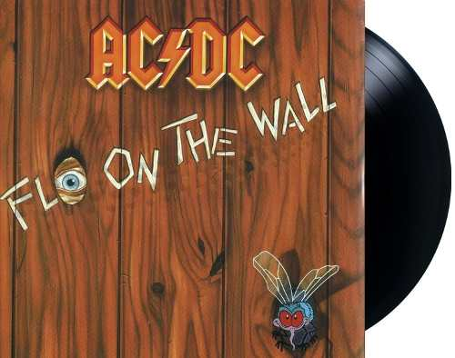 Lp ACDC Fly On The Wall