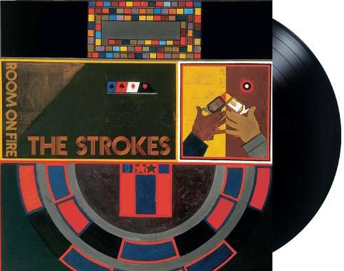 Lp The Strokes Room On Fire