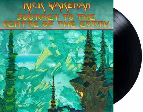Lp Rick Wakeman Journey To The Centre Of The Earth