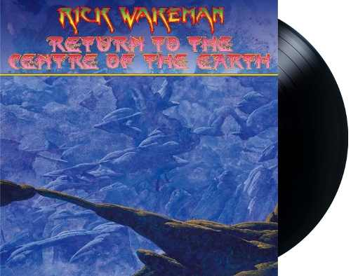 Lp Rick Wakeman Return To The Centre Of The Earth
