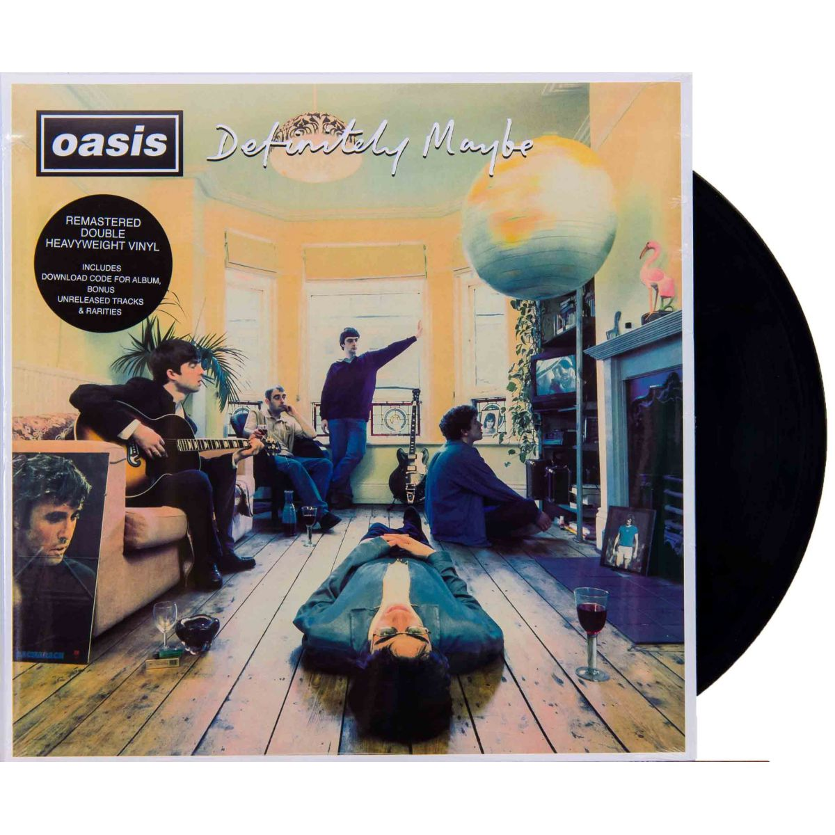 Lp Oasis Definitely Maybe