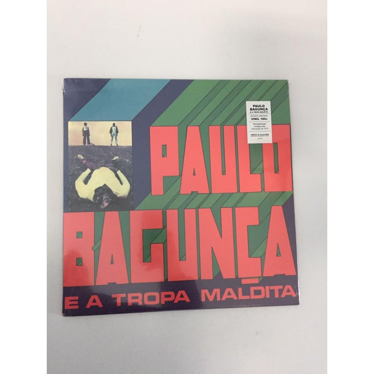 Lp Paulo Bagunça E A Tropa Maldita CAPA AMASSADA