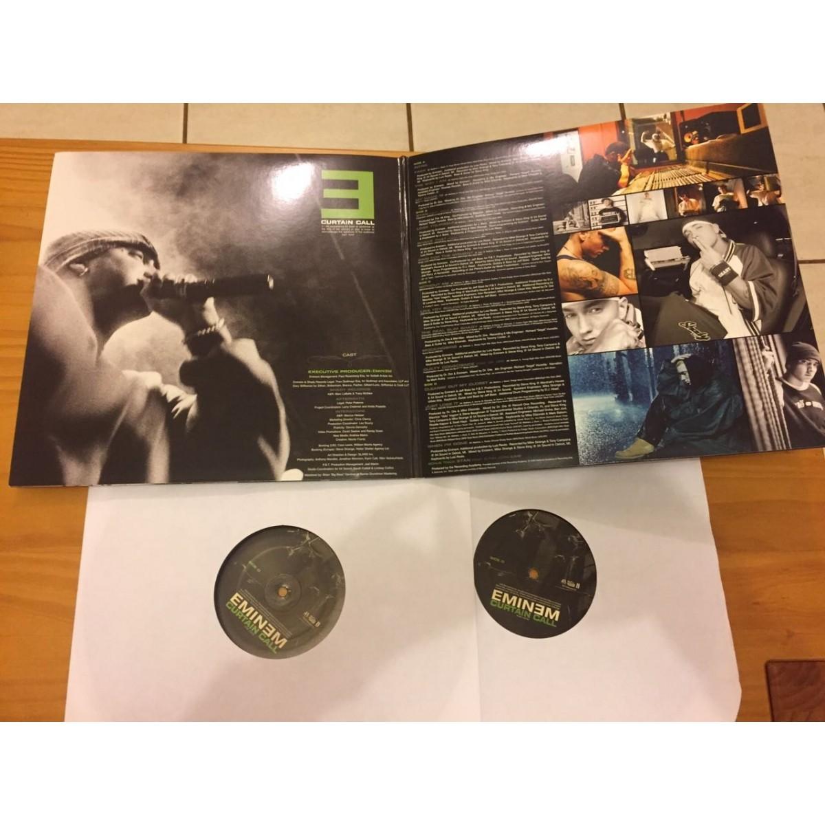 Lp Eminem Curtain Calls The Hits SOMENTE DISCO 2