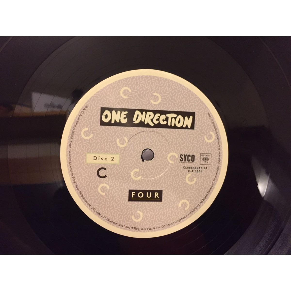 Lp One Direction Four SOMENTE DISCO 2