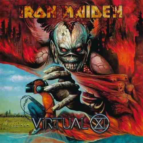 Cd Iron Maiden Virtual XI