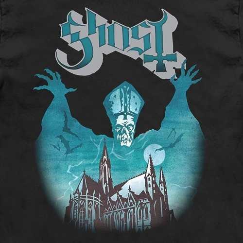 Camiseta Baby Look Feminina Ghost Opus Eponymous