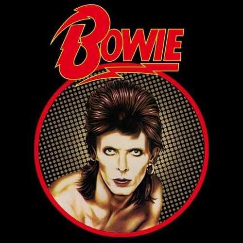 Camiseta Baby Look Feminina David Bowie Diamong Dog