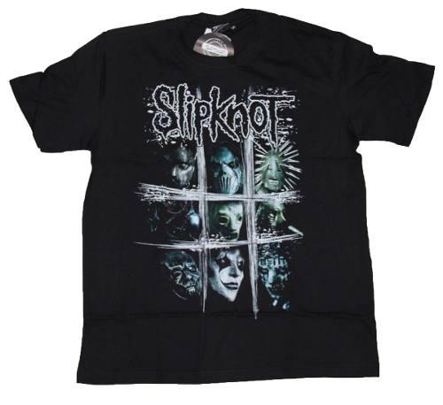Camiseta Slipknot Scratch Squares