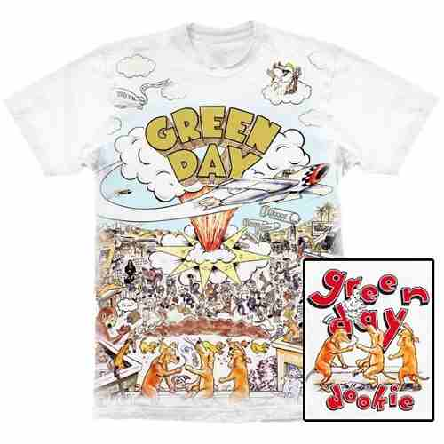 Camiseta Premium Green Day Dookie