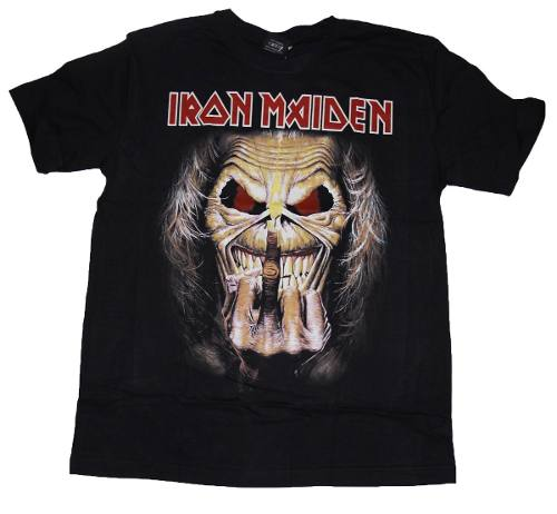 Camiseta Iron Maiden Killers Eddie Fuck