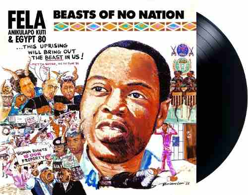 Lp Vinil Fela Kuti Beasts Of No Nation