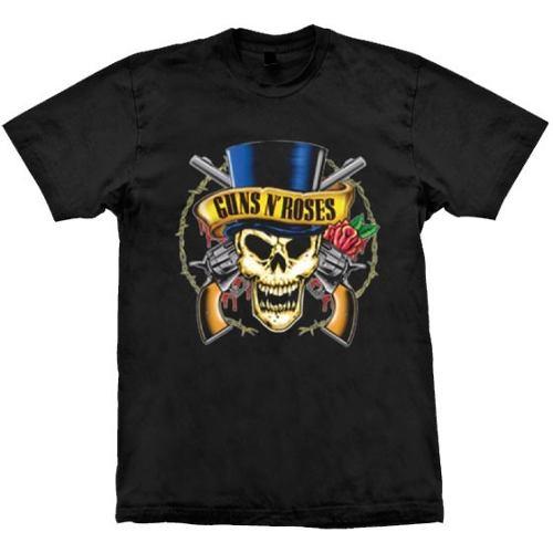 Camiseta Guns N Roses Skull Top Hat