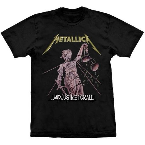 Camiseta Metallica And Justice For All