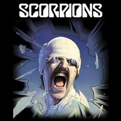 Camiseta Scorpions Blackout