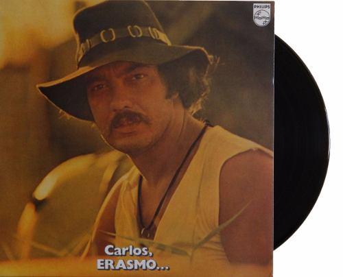 Lp Erasmo Carlos Carlos Erasmo