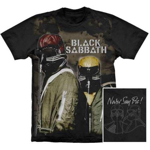 Camiseta Premium Black Sabbath Never Say Die