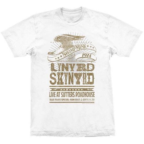 Camiseta Lynyrd Skynyrd Swamp Music 1974