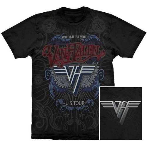 Camiseta Premium Van Halen World Famous