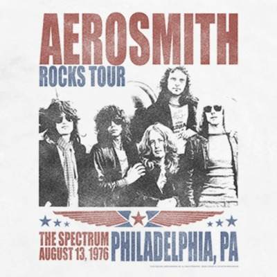 Camiseta Aerosmith Rocks Tour