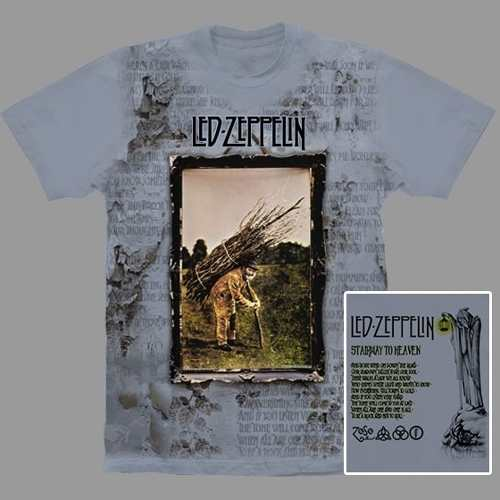 Camiseta Premium Led Zeppelin IV
