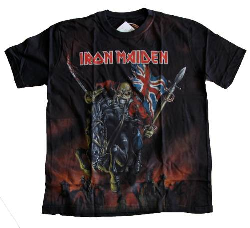 Camiseta Premium Iron Maiden The Trooper
