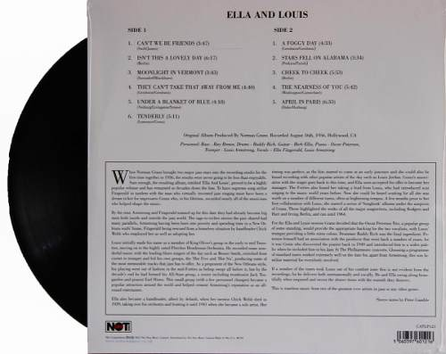 Lp Ella Fitzgerald & Louis Armstrong Ella And Louis
