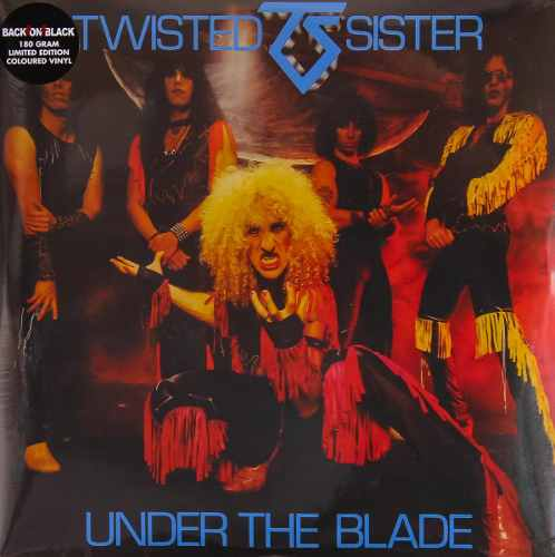 Lp Twisted Sister Under The Blade