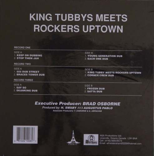 Lp Box Set Lee Perry King Tubbys Meets Rockers Uptown