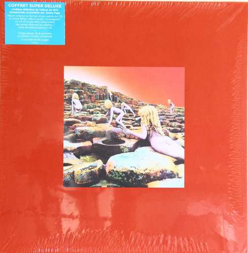 Lp Box Set Led Zeppelin Houses Of The Holy Super Deluxe