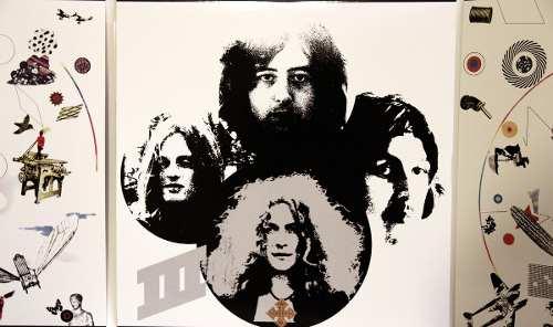 Lp Led Zeppelin III Duplo Deluxe