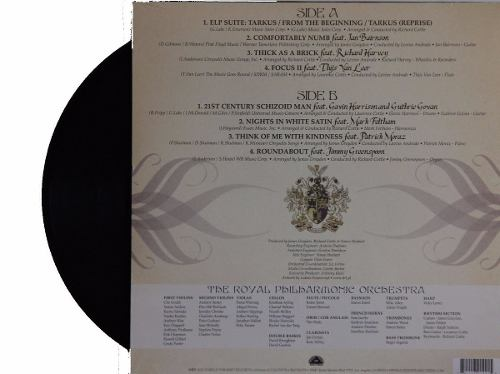 Lp Royal Phillarmonic Orchestra Plays Prog Rock