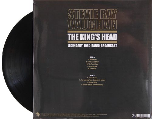 Lp Stevie Ray Vaughan The Kings Dead
