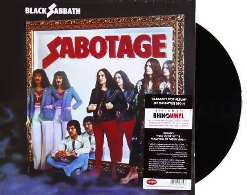 Lp Black Sabbath Sabotage