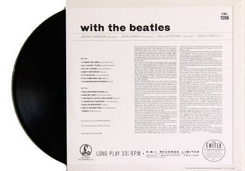 Lp The Beatles With The Beatles Mono