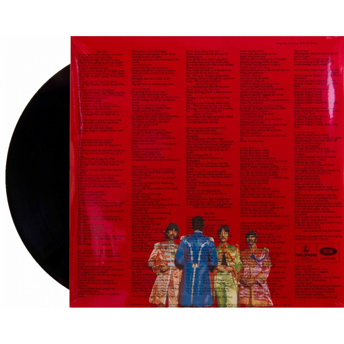 Lp The Beatles Sgt. Peppers Estereo