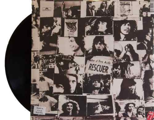 Lp The Rolling Stones Exile On Main Street