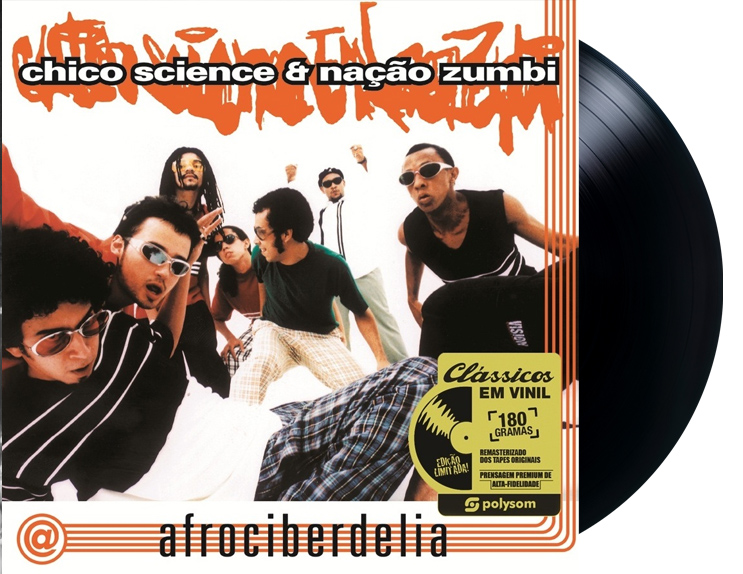 Lp Chico Science & Nação Zumbi Afrociberdelia