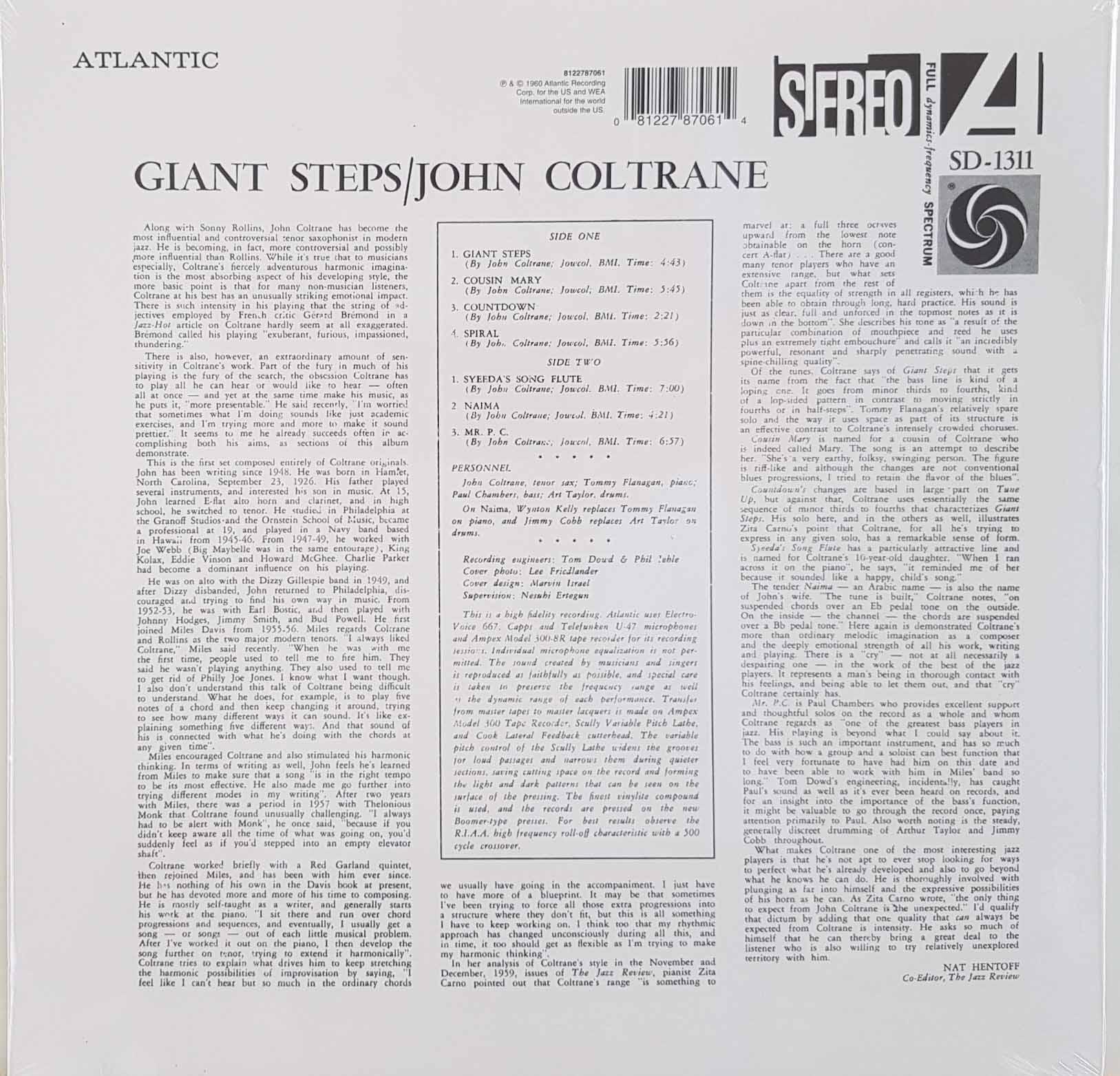 Lp John Coltrane Giant Steps