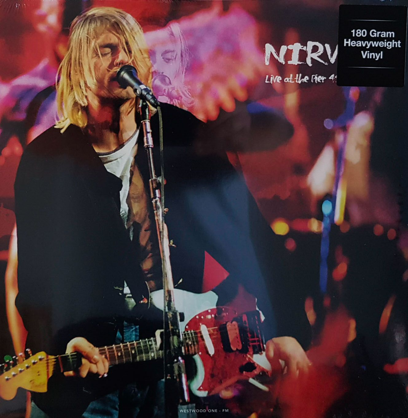 Lp Nirvana Live At The Pier 48 Seattle 1993