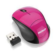Mouse Multilaser Sem Fio 2.4 Ghz Nano Usb 1000dpi Rosa