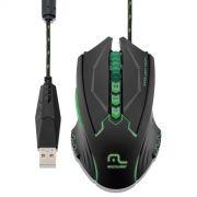 Mouse Multilaser Usb 4 Velocidades 8 Botões 2500 Dpi Com Led