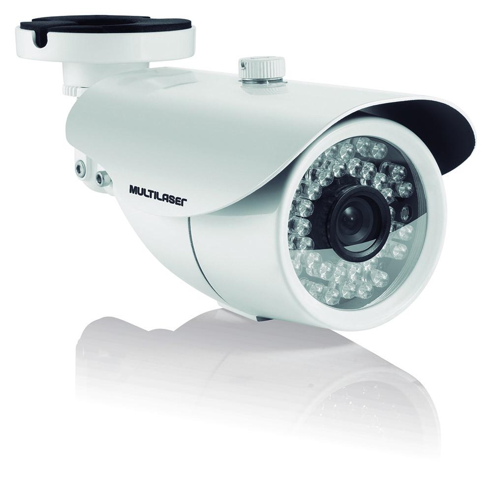 Câmera Externa Sensor Sony Ccd 1 / 3` - Branca - Se016
