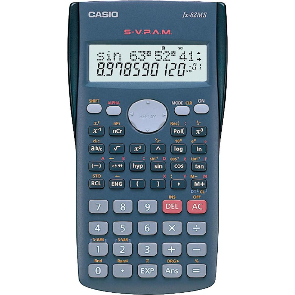 Calculadora Científica 240 Funções FX - 82MS - SC4 - DH CASIO
