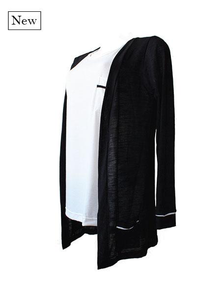 Cardigan básico black
