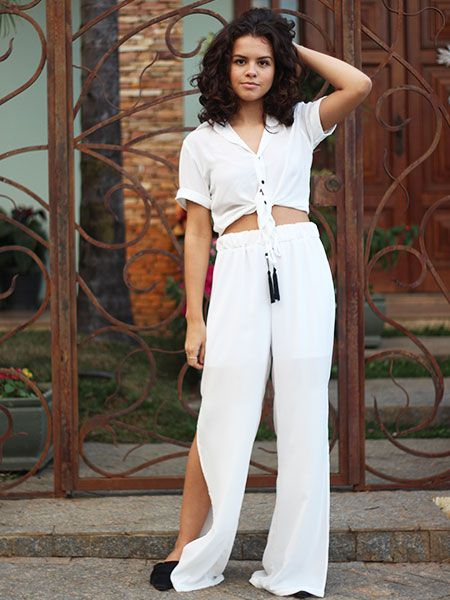 Pantalona off white
