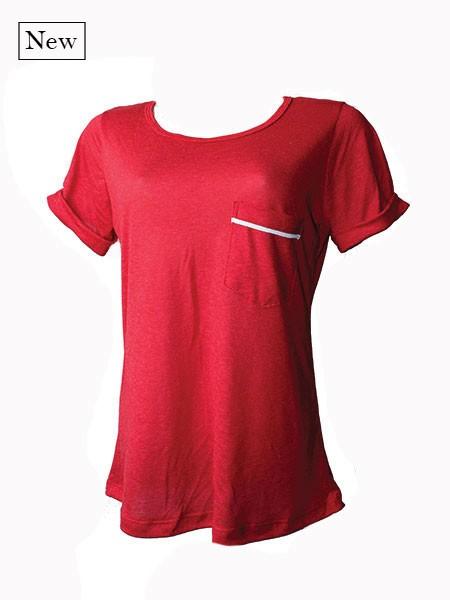 T-shirt básica red