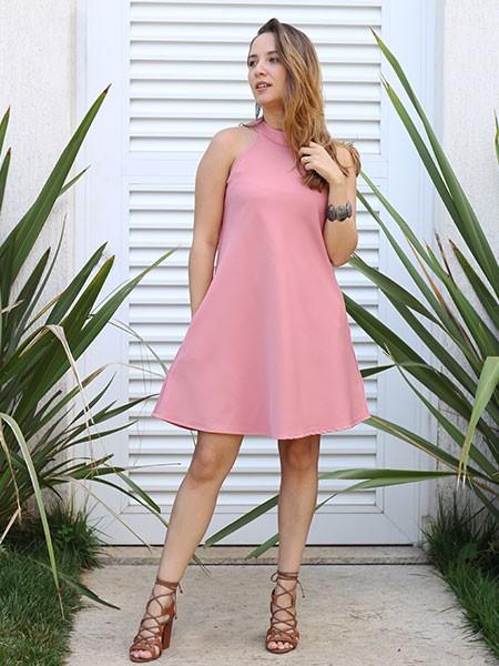 Vestido blush