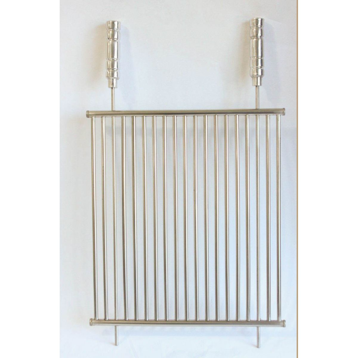 Grelha Tubular de Inox - 60cm x 45cm