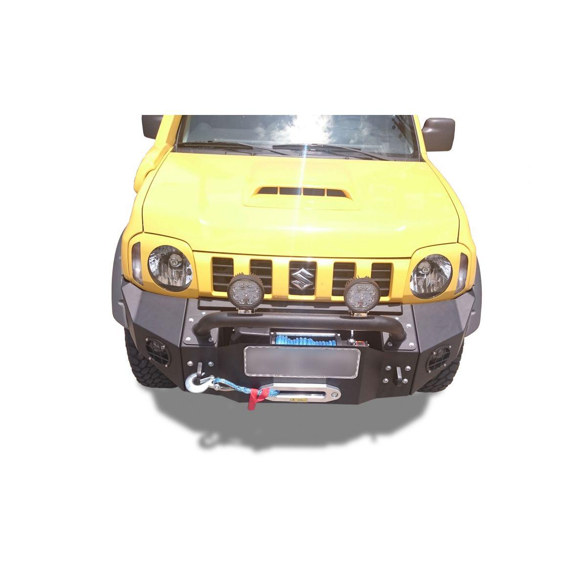 Para-choque Dianteiro De Aço - Suzuki Jimny 4sport (2012-2016)